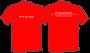 T-Shirt Red/White